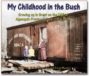 My Childhood in the Bush cover